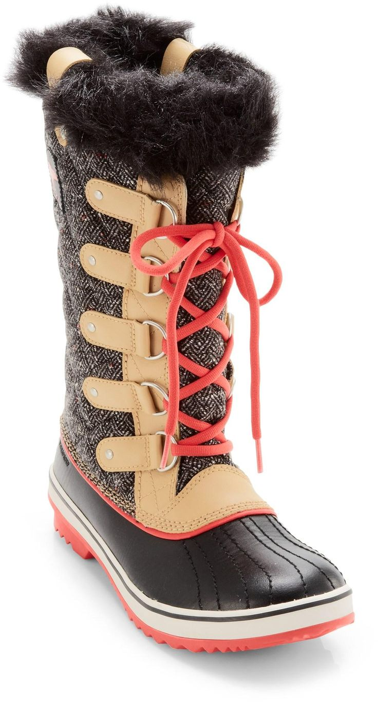 Love Sorel boots! Sorel Tofino Herringbone Winter Boots - Women's.