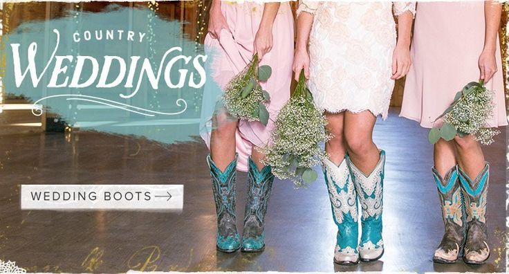 Country Wedding Boots