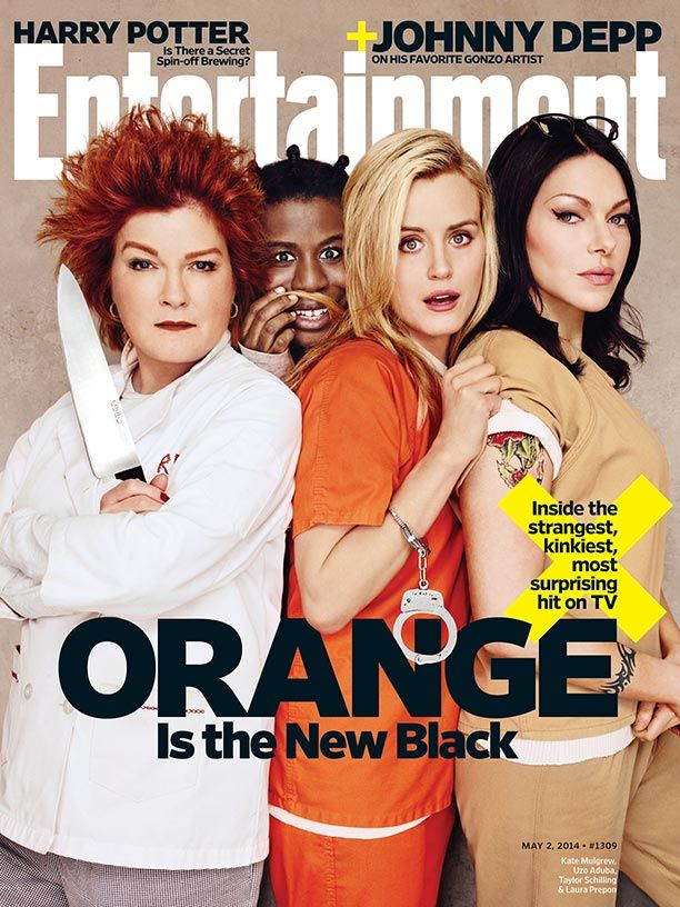 This week's cover: 'Orange Is the New Black'