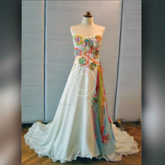 Colorful Wedding Dresses: Best 25+ Rainbow Wedding Dress Ideas On Pinterest