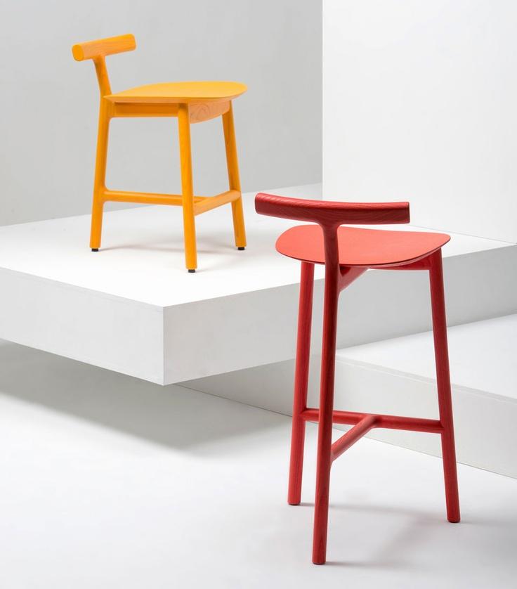 Delightful Sgabelli Radice, Design Industrial Facility E Sam Hecht Per Mattiazzi
