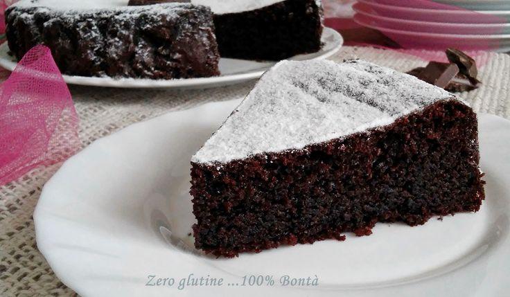 Torta soffice ricotta e cacao (senza glutine ) golosa e facile da preparare.