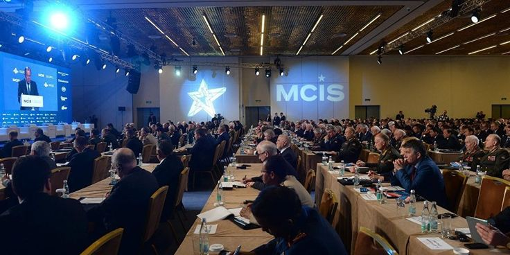 Russia terms 'terrorism' as major global danger, Syria top victim BlackHouse, Apr. 29 – Russia says international terrorism remains the main danger which is facing the world and that Syria is on top of the countries which are fighting the ISIS terrorist group. Sergei Shoigu made the remarks at the opening of the VI Moscow Conference on International... http://wp.me/p8jViq-28H