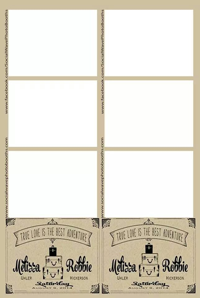 14 best Photo Booth Templates images on Pinterest | Photo booths ...