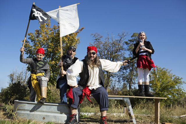 How to Play Capture the Flag: Add costumes to spice up a game of Capture the Flag.
