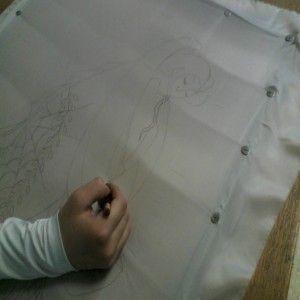 рисунок на ткань