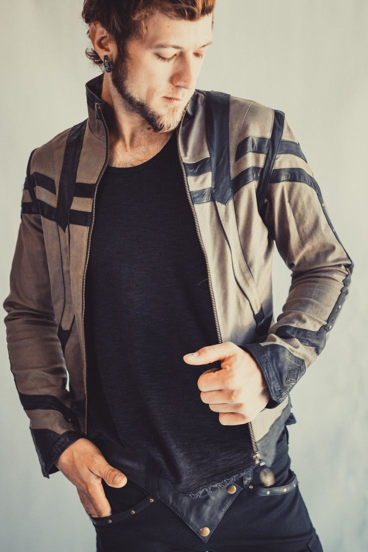 - 1Info - Size Chart Finally, a new men's Anahata Designs leather jacket, now available.. The paneled decadence of this versatile Taurid jacket is made from the supplest of leathers and stretch denim