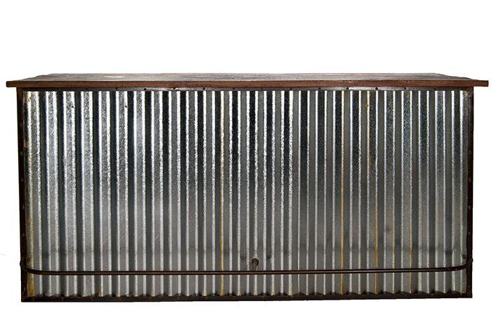 Meubles comptoir de bar style industriel
