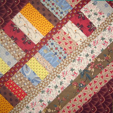 Sew String Pieced Quilt Blocks Inspired By A Civil War Era