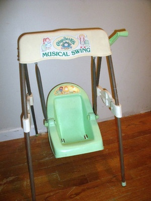 cabbage patch swing...someone had this dont remember if it was me