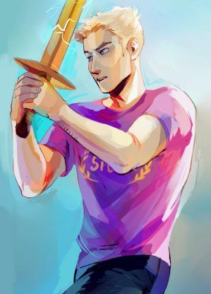 Jason Grace – Rick Riordan | art by viria