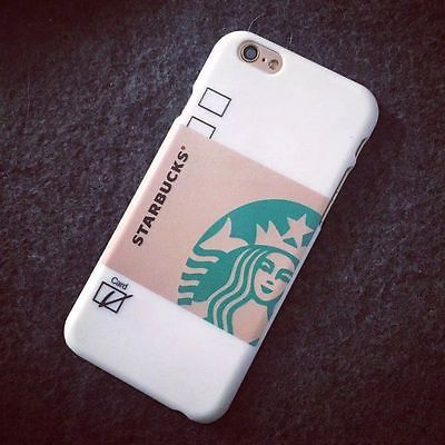 """New Fashion Frosted Starbucks PC Phone Back Case cover For iphone 6 4.7""""/Plus"""