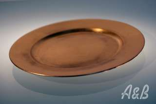 Gold Resin Plate Chargers