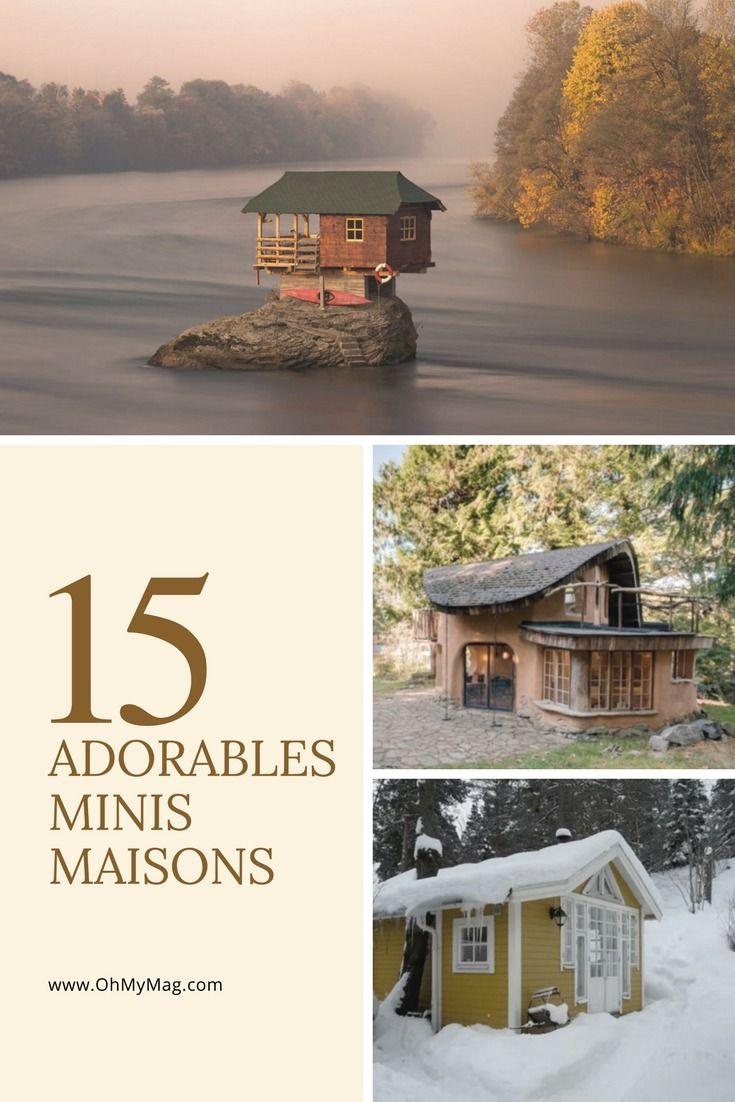 15 adorables et minuscules maisons à louer aux quatre coins du monde