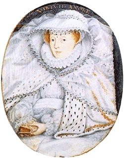 Portrait of Queen Mary I of Scotland, known as Mary Queen of Scots, who was executed by Anne and Henry's daughter Elizabeth I in 1587. Mary was the daughter of James V, who was a cousin to and enemy of Henry VIII.