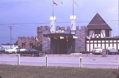 The Castle Restaurant, Olean NY.  So many memories...