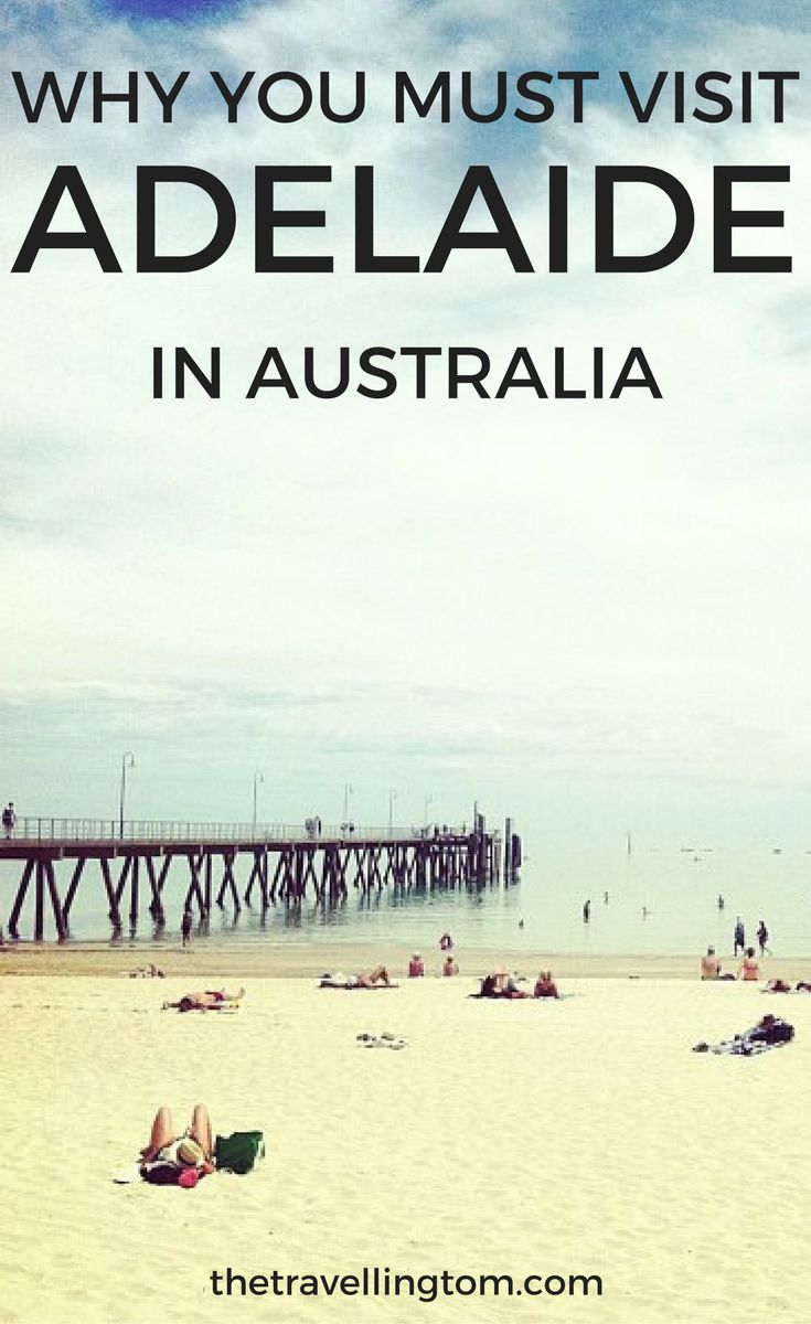 Visiting Adelaide is something that you should definitely do while travelling Australia!  There are many great things to do in Adelaide, such as going to Glenelg beach and visiting the beautiful Adelaide Hills!  Check out my Adelaide Travel Guide or more info on this beautiful Australian city!