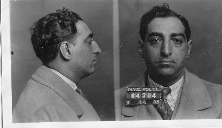 Joseph 'Joe Stretch' Stracci street soldier for Genovese Crime Family and longtime friend of Joe Valachi c.1939