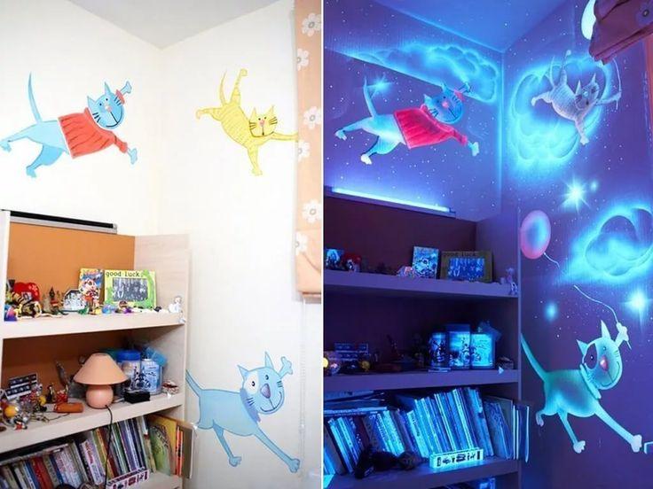 рисунки флуоресцентной краской на стене: 13 тыс изображений найдено в Яндекс.Картинках