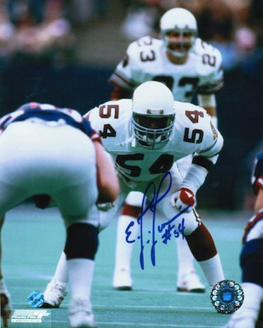 Autographed E.J. Junior St. Louis Cardinals (Football) 8x10 Photo