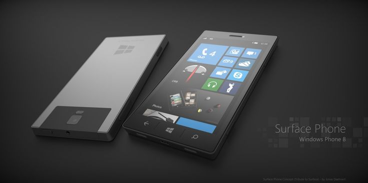 Microsoft Surface Phone 8 by Jonas-Daehnert on deviantART