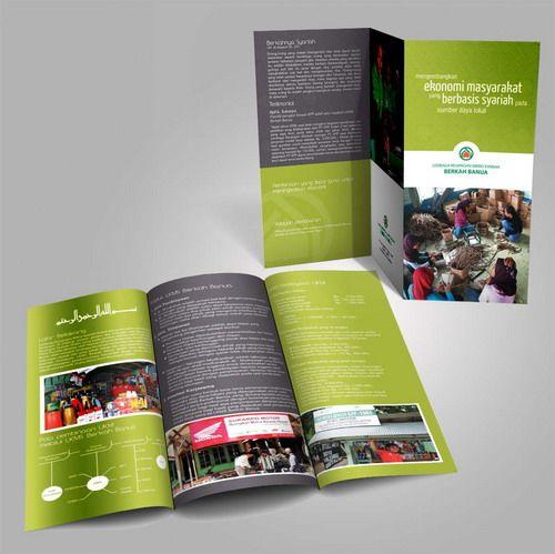 Desain brosur Barkah Banua 3 CSR PT. Kalimantan Prima Persada. www.simplestudioonline.com