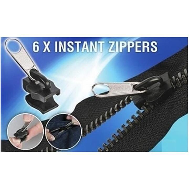 6 Pcs Bag Universal Instant Fix Zipper Repair Kit Hes Fix A Zipper Zipper Repair Zipper