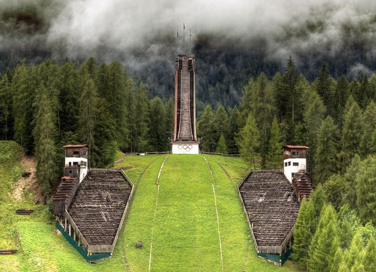 Here's What Happens to Forgotten Olympic Venues #Olympics