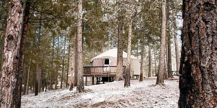 $199 -- Yosemite 2-Night Yurt Camping incl. Weekends