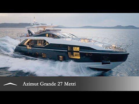 Azimut Grande 27 METRI   Azimut Yachts official   Luxury yacht sales