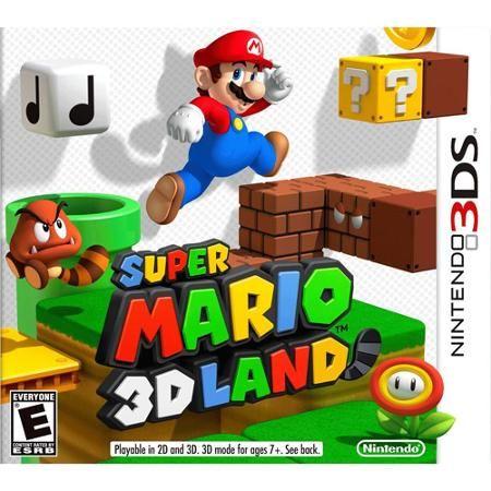 Super Mario 3D Land, Nintendo, Nintendo 3DS, 045496741723