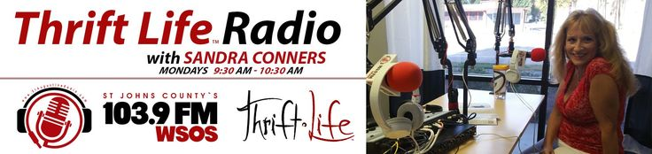 Fab Finds Thrift Life Radio Sandra Conners 103 9 FM WSOS S1 E8