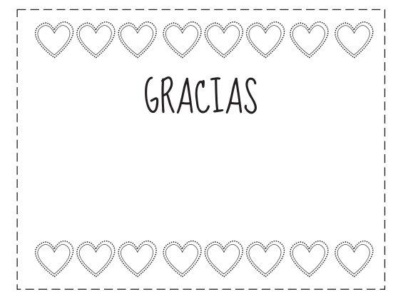 tarjeta de agradecimiento para una amiga