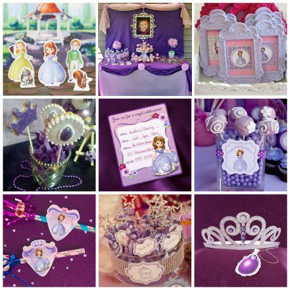 15 Sofia the First Party Ideas Fit for Royalty