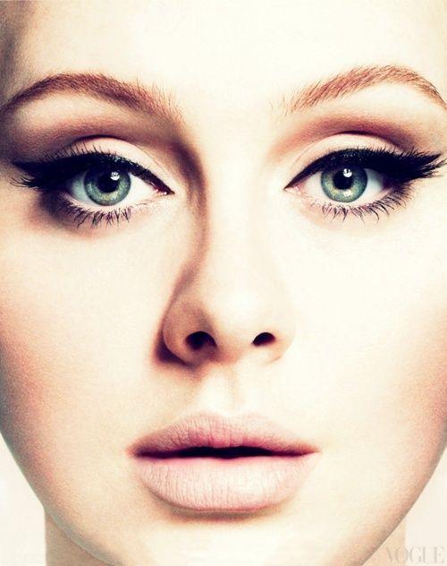 AdeleEye Makeup, Cat Eye, Wings Eyeliner, Beautiful, Makeup Looks, Eyemakeup, Wedding Makeup, Eye Liner, Adele