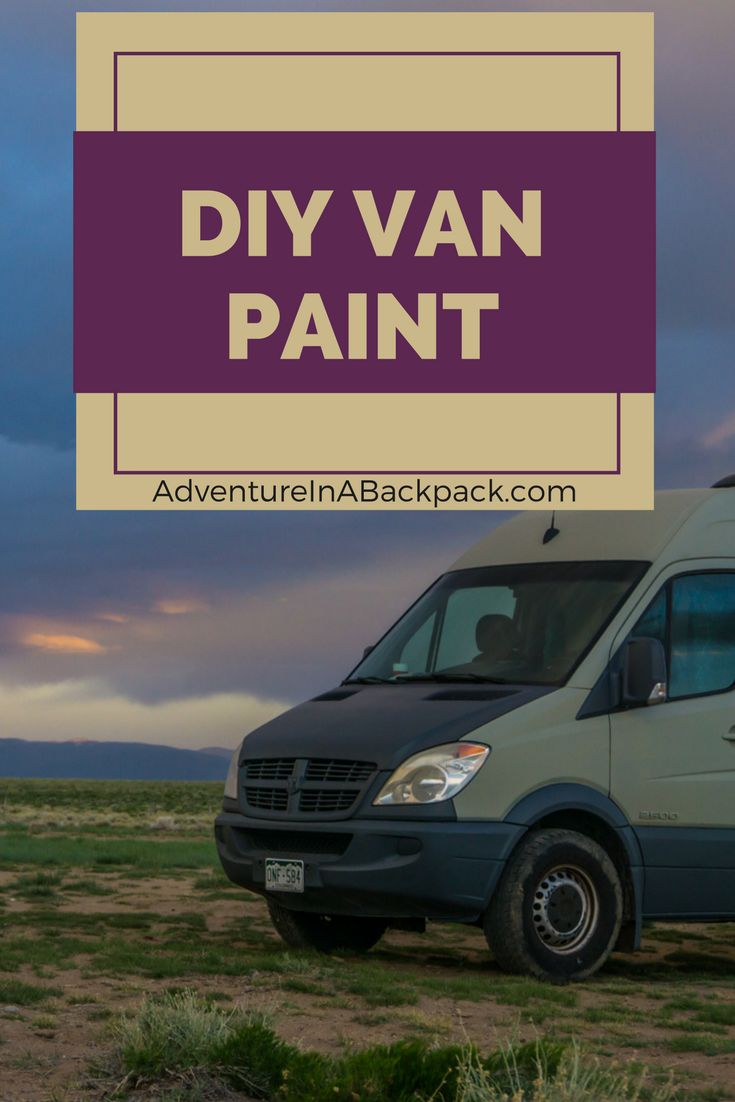 We Painted Our Sprinter Van Completely Ourselves Using PlastiDip And It Turned Out GREAT DIY