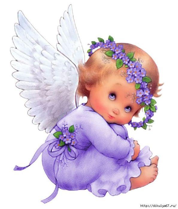 Родителей, картинки открытки с ангелочками