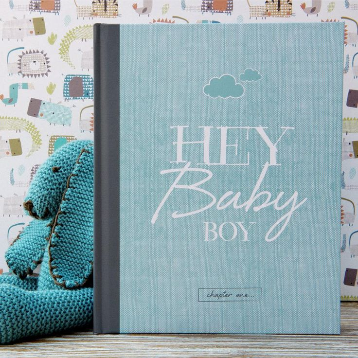 Contemporary baby journal, record book, baby memory book and diary in one – a modern gift to fill in and look back on with love.