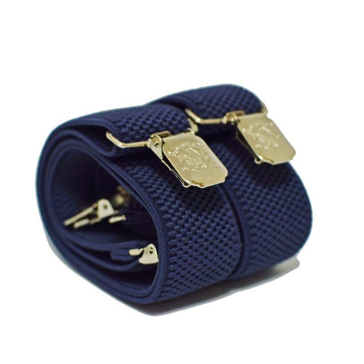 Подтяжки мужские синий джинс 3.5 см Y - купить в Киеве и Украине по недорогой цене, интернет-магазин
