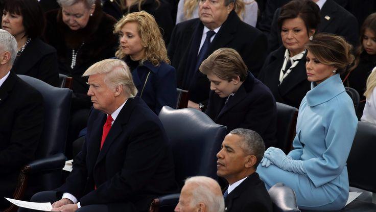 Donald Trump, Girl Behind Donald Trump, Charlotte Pence