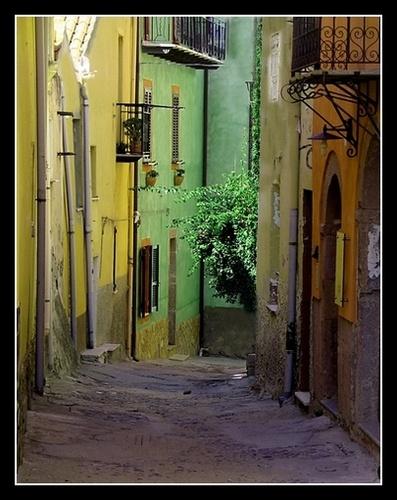 Bosa historic centre, Sardinia