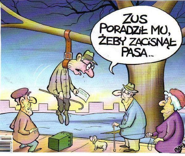 Zaciskanie pasa w Polsce