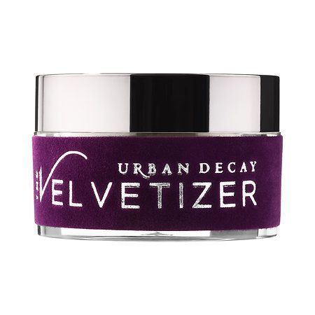 Layer this fine Velvetizer powder from Ubran Decay onto shiny spots for an instant matte finish.