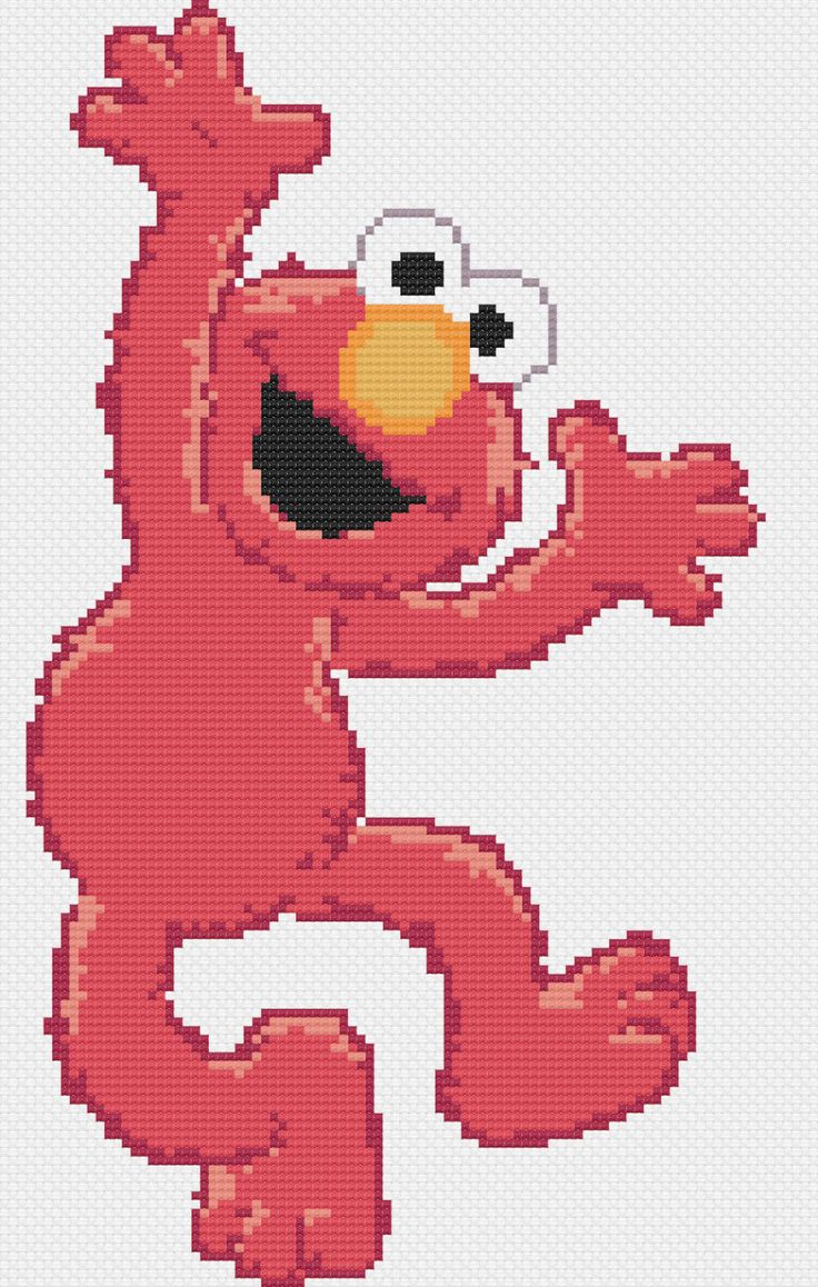 19 best elmo images on pinterest sesame streets elmo and bead elmo cross stitch pattern par bubblecrossstitch sur etsy httpsetsy bankloansurffo Gallery