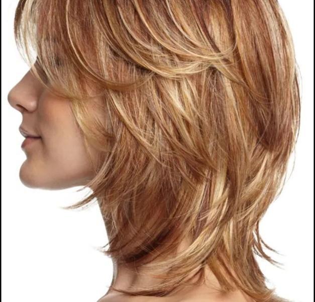 Stufenschnitt Bilder Mittellang Haarschnitte Und Frisuren Trends 2019 Bilder Frisuren In 2020 Medium Long Haircuts Hair Styles Medium Layered Hair
