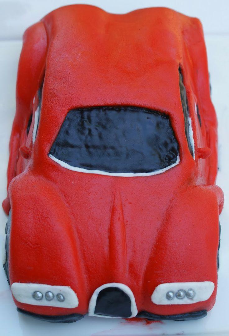 Blueberry Girl : Bugatti Veyron Cake
