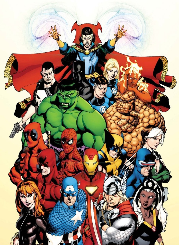 Marvel's Heavy Hitters