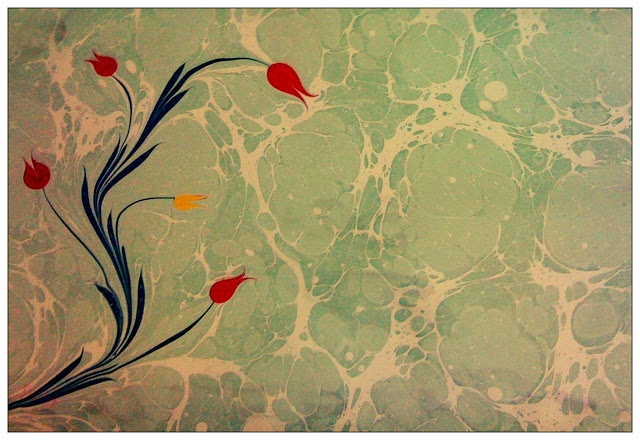 Paper Marbling Art / Ebru Sanati