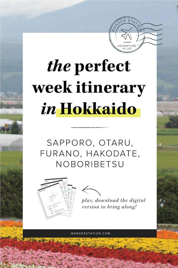 The Perfect Week Itinerary: Hokkaido
