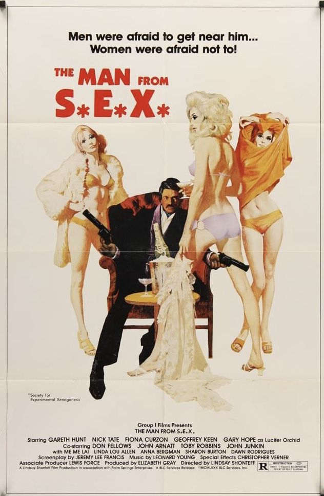 Mcginnis The Man From S E X Movie Posters Robert Mcginnis